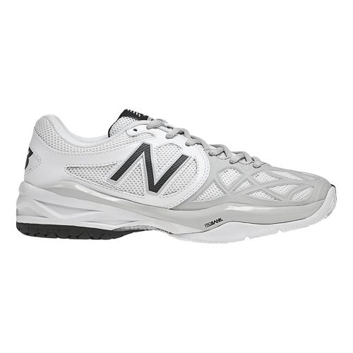 Womens New Balance 996 Court Shoe - White/Silver 7.5