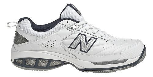 Mens New Balance 806 Court Shoe - White 10