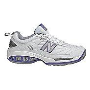 Womens New Balance 806 Court Shoe - White 6