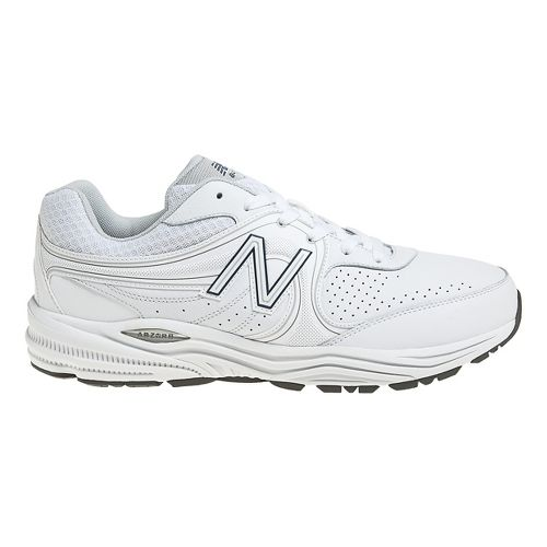 Mens New Balance 840 Walker Walking Shoe - White 14