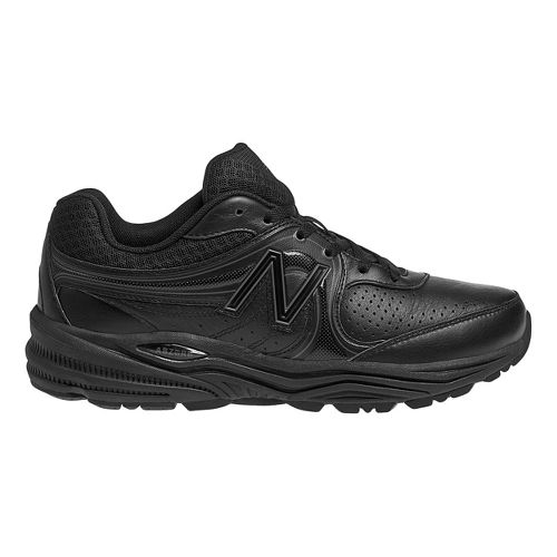 Womens New Balance 840 Walking Shoe - Black 11.5