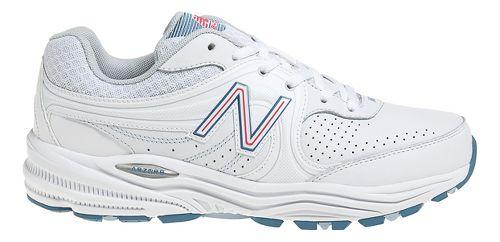 Womens New Balance 840 Walking Shoe - White/Pink 5