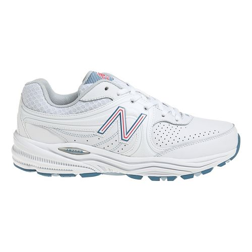 Womens New Balance 840 Walking Shoe - White/Pink 7.5