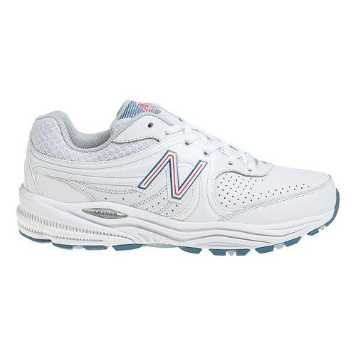 Womens New Balance 840 Walking Shoe - White/Pink 8.5