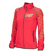 Womens New Balance Hi-Viz Beacon Running Jackets