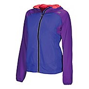 Womens New Balance Sequence Hooded Running Jackets