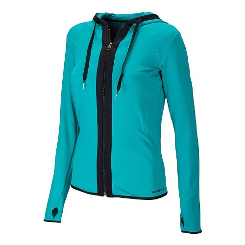 Womens New Balance Ultimate Fitness Running Jackets - Capri Breeze M
