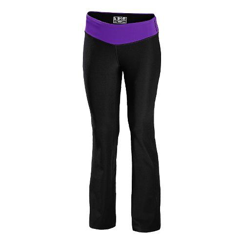 Womens New Balance The Fierce Flare Full Length Pants - Amethyst XS