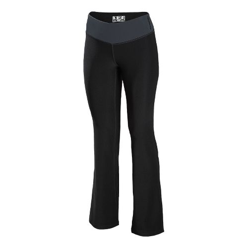 Womens New Balance The Fierce Flare Full Length Pants - Anthracite XLS