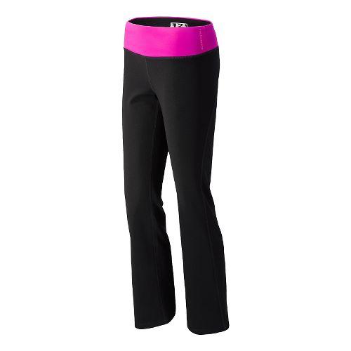 Womens New Balance The Fierce Flare Full Length Pants - Poisonberry XST