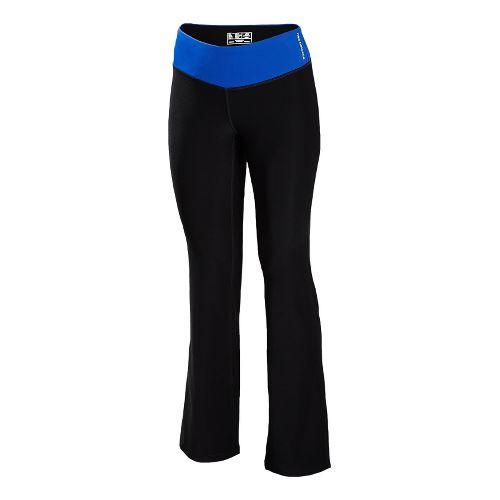 Womens New Balance The Fierce Flare Full Length Pants - UV Blue XLT