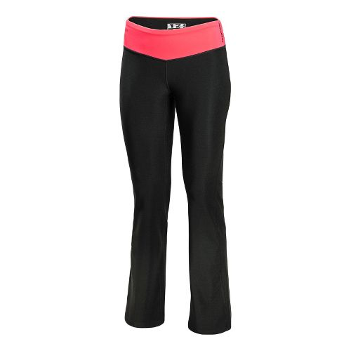 Womens New Balance The Fierce Flare Full Length Pants - Watermelon L