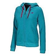 Womens New Balance  Essentials Full Zip Hoodie Running Jackets