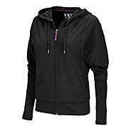 Womens New Balance Fashion Full Zip Hoodie Running Jackets