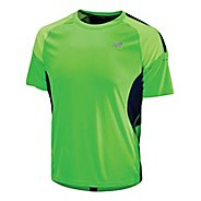 Mens New Balance Impact Short Sleeve Technical Tops