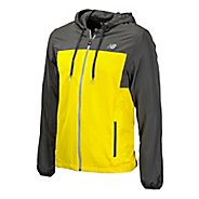 Mens New Balance Sequence Hooded Running Jackets
