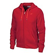 Mens New Balance  Essentials Zip Up Hoodie Running Jackets