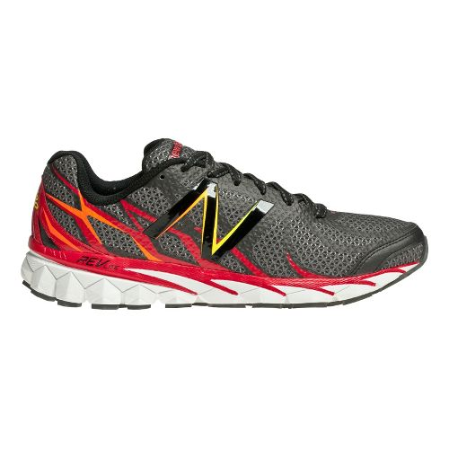 Mens New Balance 3190v1 Running Shoe - Grey/Red 7.5