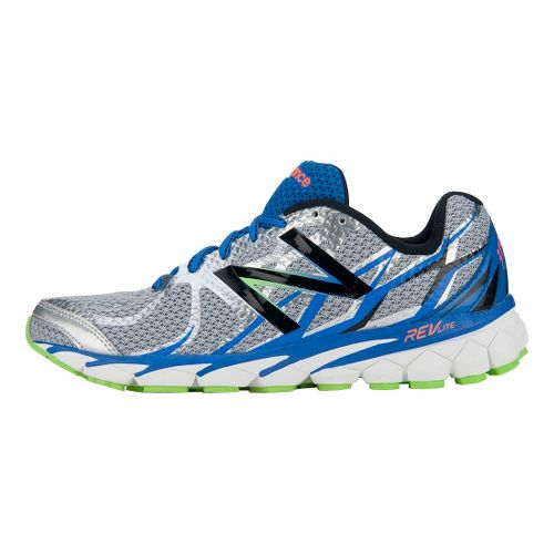 Mens New Balance 3190v1 Running Shoe - Silver/Blue 9.5
