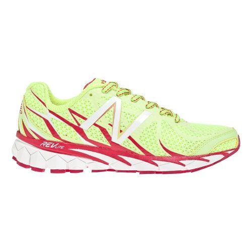 Womens New Balance 3190v1 Running Shoe - Yellow/Pink 8.5