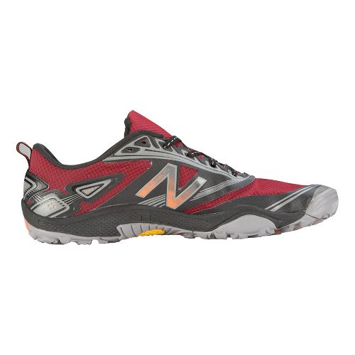 Mens New Balance 80v2 Trail Running Shoe - Red/Black 10.5