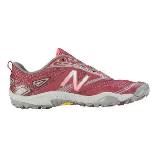 Womens New Balance 80v2 Trail Running Shoe - Red 7.5