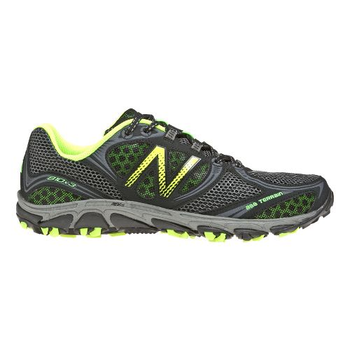 Mens New Balance 810v3 Running Shoe - Grey/Yellow 8.5