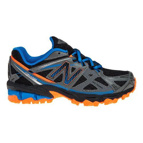 Kids New Balance 610v3 Trail Running Shoe - Grey/Blue 4