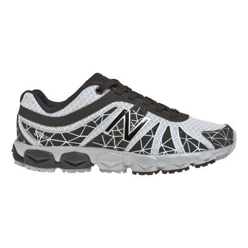 Kids New Balance Kid's 890v4 - Full lace GS Running Shoe - Black/Silver 3.5