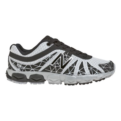 Kids New Balance Kid's 890v4 - Full lace GS Running Shoe - Black/Silver 3.5