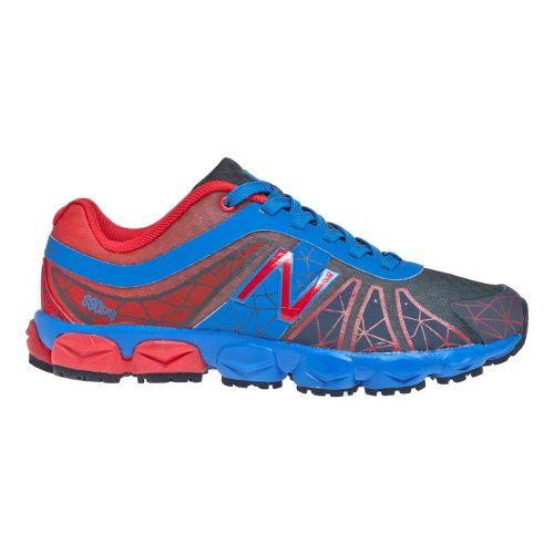 Kids New Balance Kid's 890v4 - Full lace GS Running Shoe - Blue/Red 4