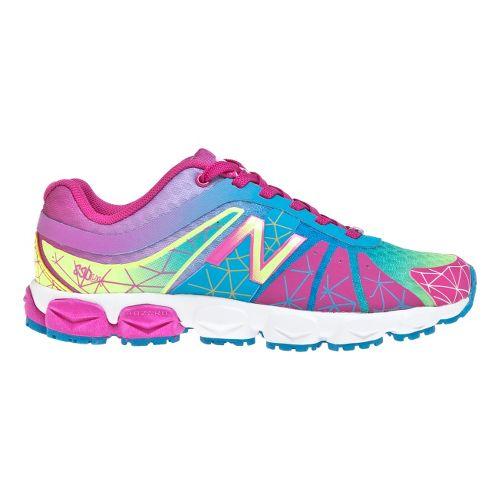 Kids New Balance Kid's 890v4 - Full lace GS Running Shoe - Rainbow 5