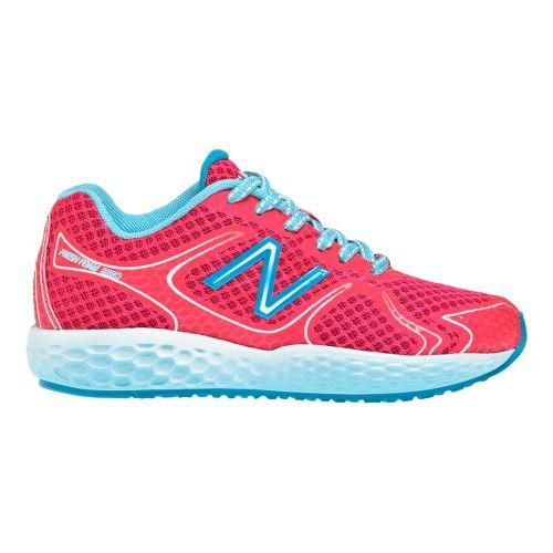 Kids New Balance 980 Running Shoe - Pink/Blue 7