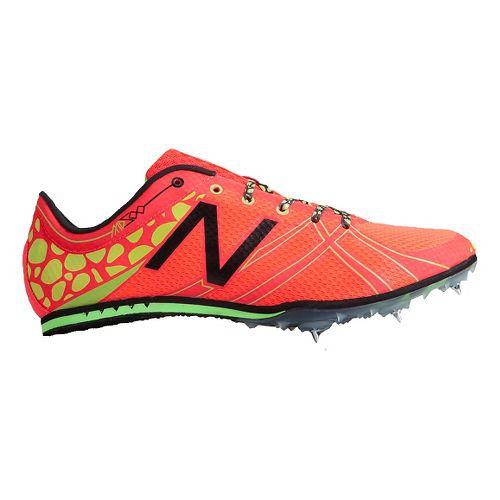 Mens New Balance MD500v3 Racing Shoe - Bright Cherry/Hi-Lite 12.5