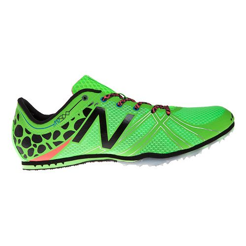 Mens New Balance MD500v3 Racing Shoe - Green/Black 7.5