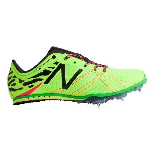 Womens New Balance MD500v3 Racing Shoe - Hi-Lite/Black 7.5