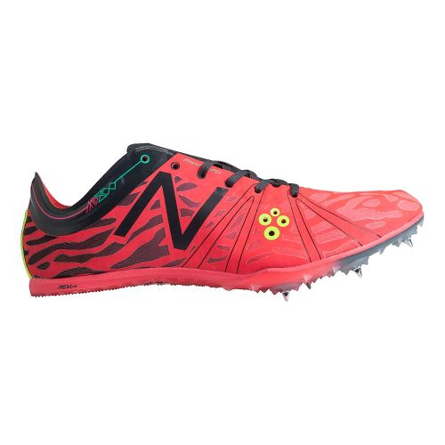 Mens New Balance MD800v3 Racing Shoe - Bright Cherry/Orca 11