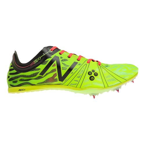 Mens New Balance MD800v3 Racing Shoe - Yellow/Black 7.5