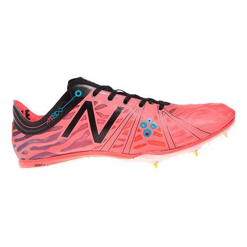 Mens New Balance MD800v3 Racing Shoe - Silver/Chem Green 11