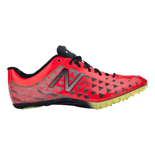 Mens New Balance SD400 Racing Shoe - Pink/Black 8.5