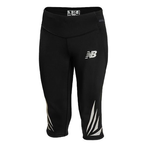 Womens New Balance Boylston Capri Pants - Black S