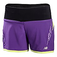 "Womens New Balance Impact 5"" 2-in-1 Shorts"