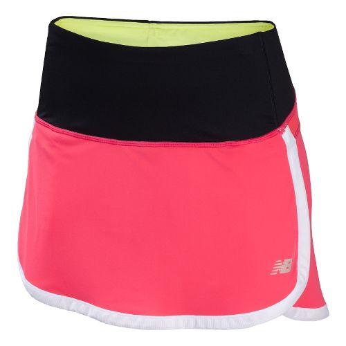 Womens New Balance Impact Skort Fitness Skirts - Watermelon XL