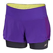 Womens New Balance Momentum 2-in-1 Shorts