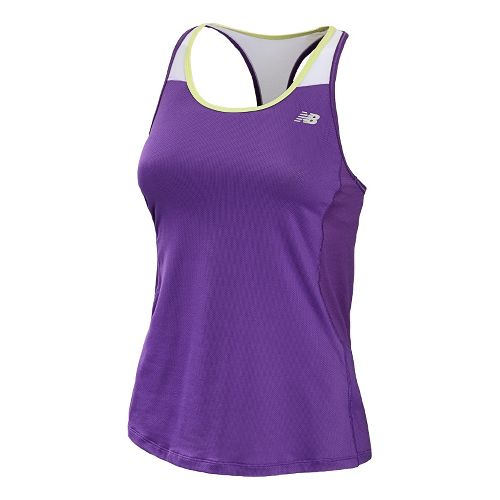 Womens New Balance Tonic Sport Top Bras - Amethyst XS