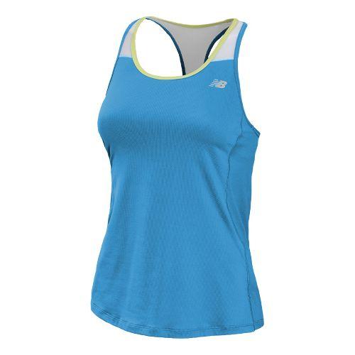 Womens New Balance Tonic Sport Top Bras - Blue Infinity S