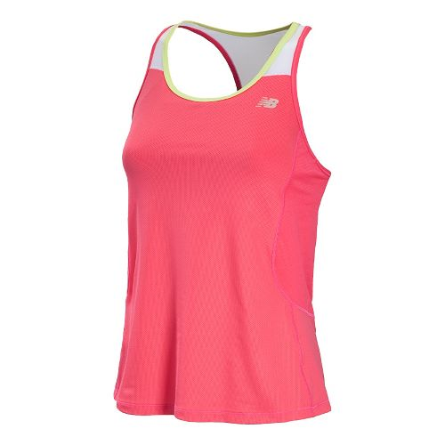 Womens New Balance Tonic Sport Top Bras - Watermelon M