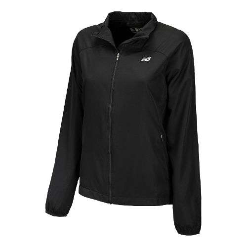 Womens New Balance Sequence Running Jackets - Black M
