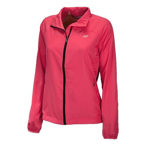 Womens New Balance Sequence Running Jackets - Watermelon L
