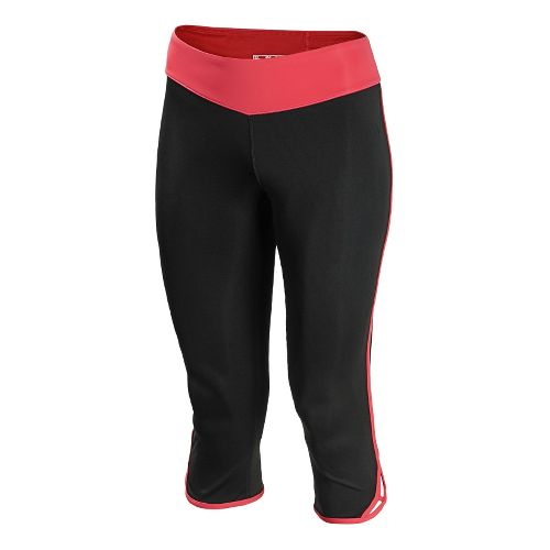Womens New Balance Crossover Capri Tights - Watermelon XL